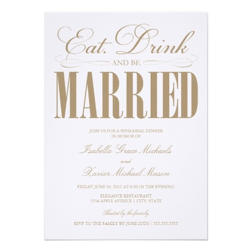 Camel Eat, Drink U0026 Be Married | Rehearsal Dinner Card. Rehearsal Dinner  InvitationsWedding ...