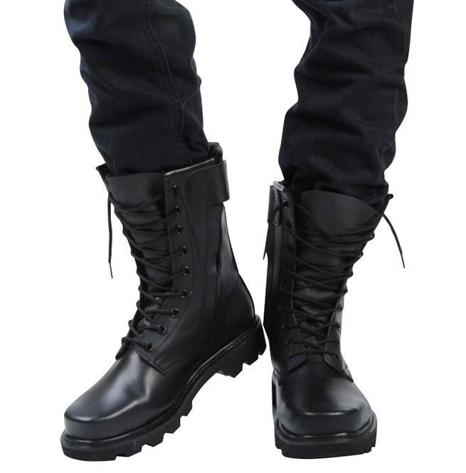 Combat boots men, Military shoes