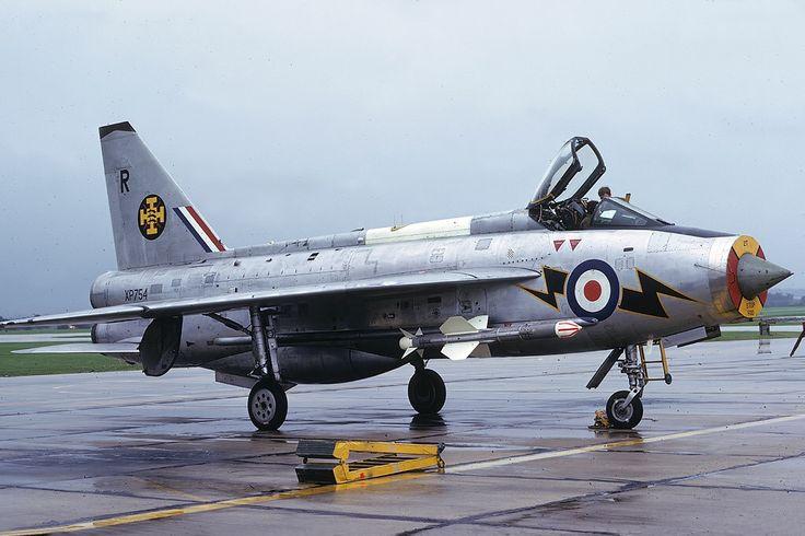 XP754/R Lightning F3 111 Squadron, RAF Wattisham, NAS Yeovilton, Sept 1974. Photo Copyright: Mike Freer