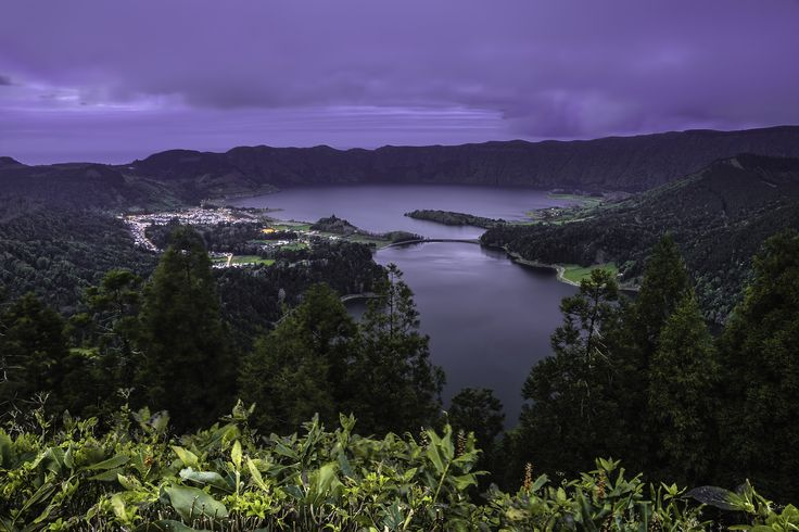 """Vista do Rei - <b>Sete Cidades, São Miguel, Azores, Portugal</b>  So called for being the location where King Carlos and Queen Amélia, on June 6, 1901, dazzled with the fabulous landscape, """"Vista do Rei"""" (The King's View) offers a wide view of the interior of the volcanic crater where lies the Green and Blue lagoons of """"Sete Cidades"""" on the island of São Miguel. Although it is the best known """"postcard"""" from Azores and one of the most reproduced images of the region I ended up not resisting…"""