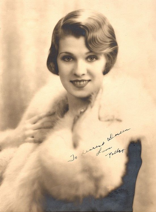 Help With Id Of Actress Named Polly From 1920s 30s