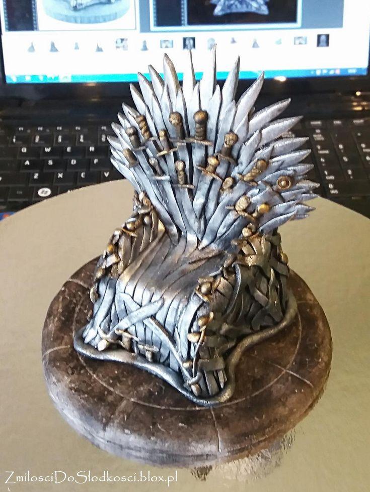 Tron - Gra o tron / Game of thrones - fondant throne