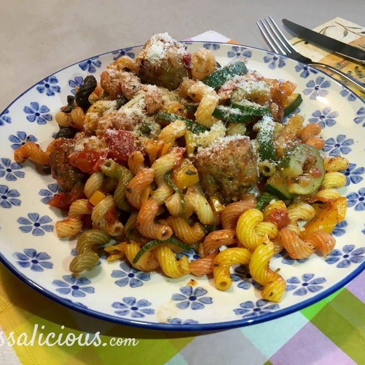 kruidige pasta courgette – 3
