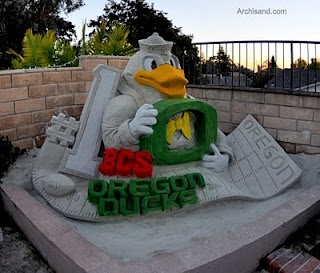 Sand Castle Duck Style! #nationalbrand