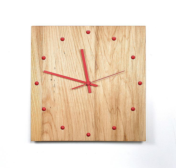 diy wood clock uhr selber bauen eine wanduhr aus holz t. Black Bedroom Furniture Sets. Home Design Ideas