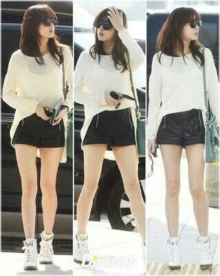#kang sora #airport fashion
