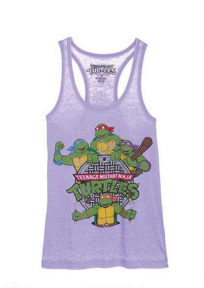 Teenage Mutant Ninja Turtles Burnout Tank - Graphic Tees - Tops - Clothing - mobile - dELiA*s