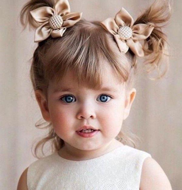 Charmante Frisuren für Mädchen 2019-2020: Fotoideen Frisuren im Kindergarten und in der Schule