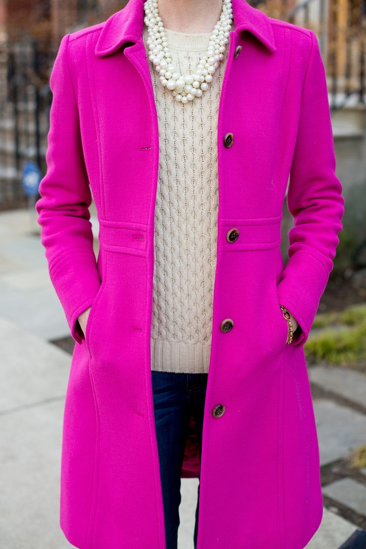 J.Crew Lady Day Coat - Kelly in the City