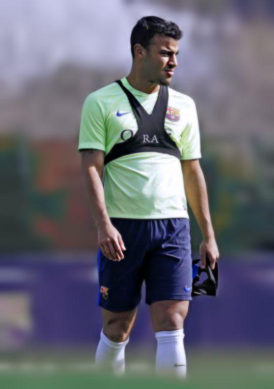 Rafinha during FC Barcelona training session 27/02/2017