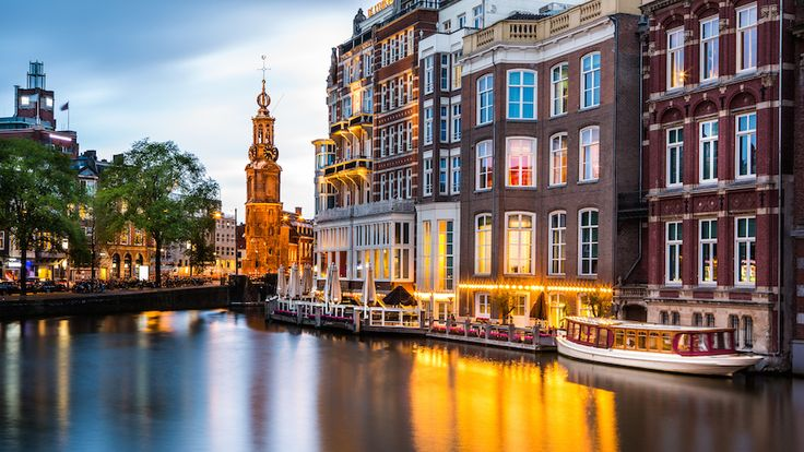 Stay on a houseboat and have the ultimate romantic trip to Amsterdam.  http://www.stay.com/amsterdam/guides
