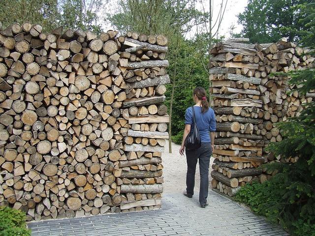 Festival des Jardins 2008, Chaumont-sur-Loire, France.Nordic Dreams // imperfect wall