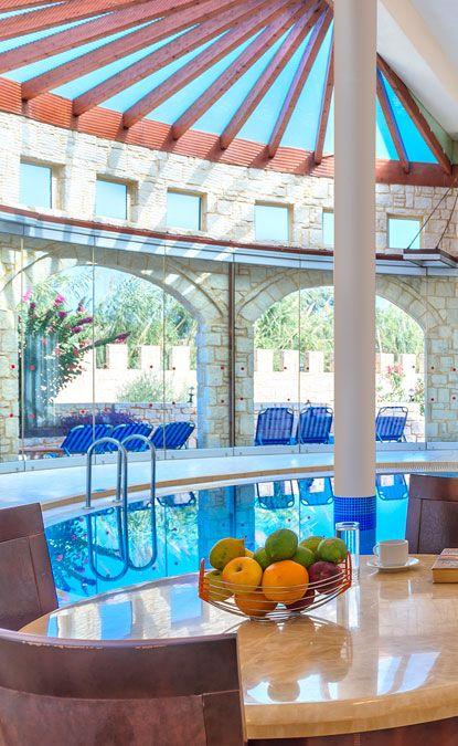 All season swimming - View from Platanias Villa in Chania, Crete