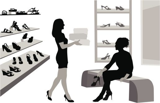 Vectores libres de derechos: ShoeShopp
