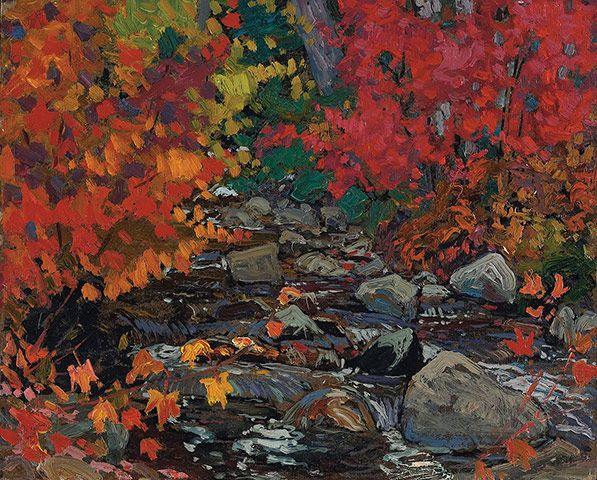 Painting Canada: Tom Thomson and the Group of Seven                                                                                                                                                                                 Mais