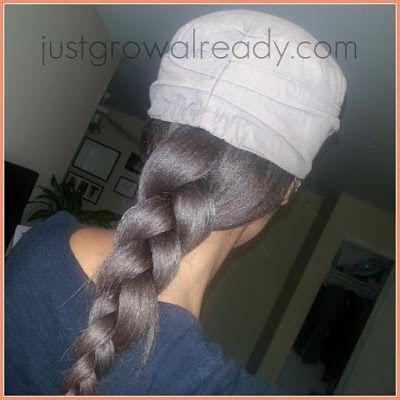 Lazy Hair Day: 1 Big Braid by Just Grow Already! blog