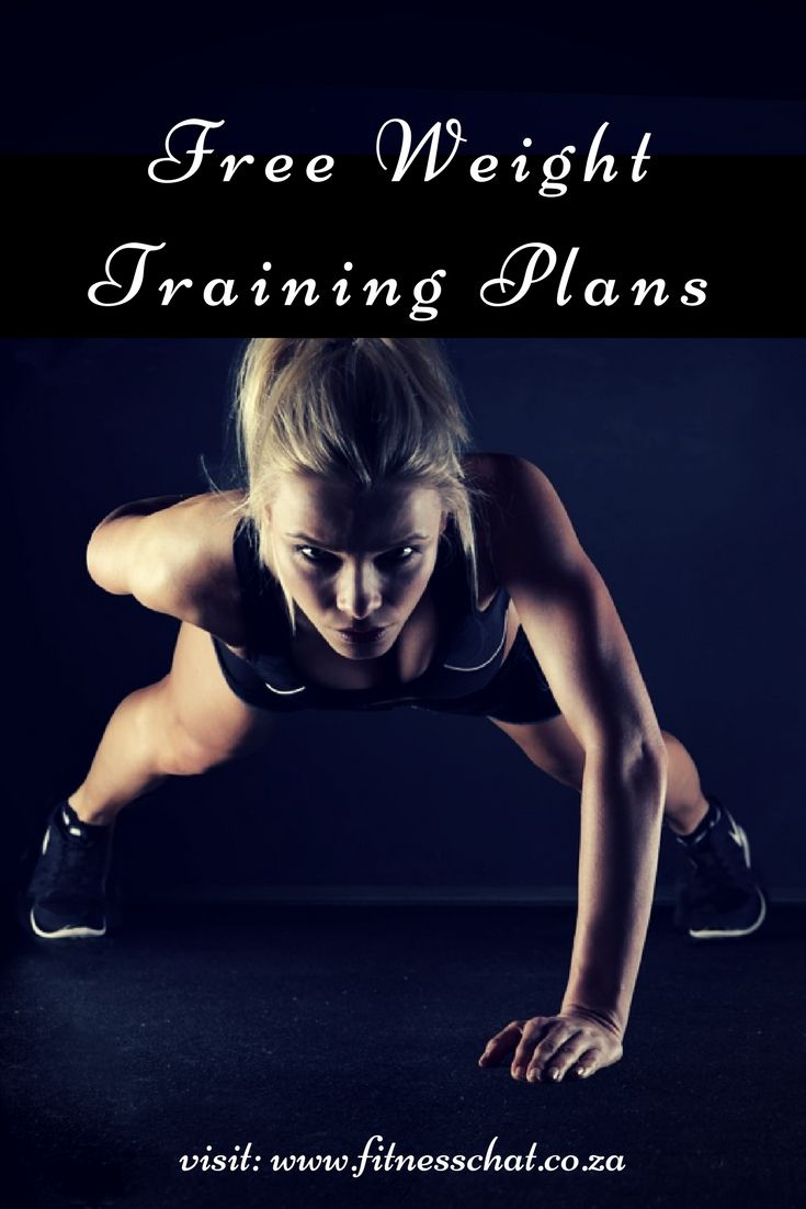 Free workout plans, free training plans, free training programs, workout programs for beginners,
