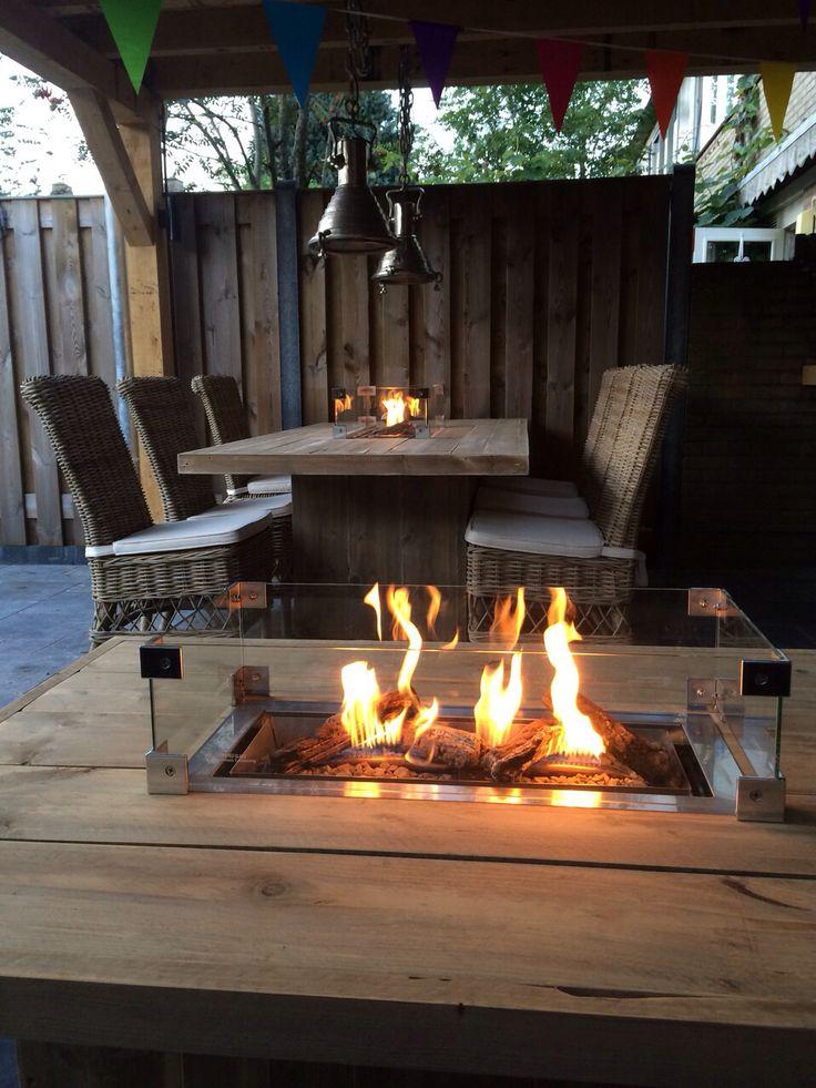 Vuurtafel op gas bij www.vuur-tafels.nl