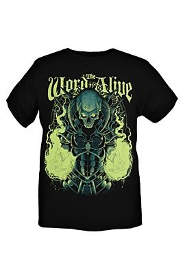 The Word Alive Skull Man Slim-Fit T-Shirt www.Hottopic.com  Was: $20.50 Now: $15.98