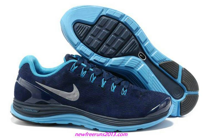 Nike Lunarglide 4 Navy Chrome Blue 524977 404 Running