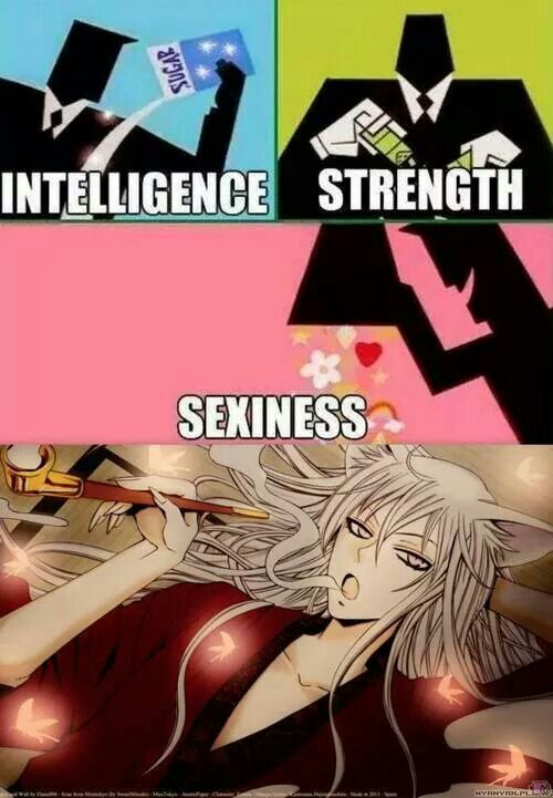 Kamisama Hajimemashita | Tomoe❤/ BAHAHA XD Whoever made this is a genius...
