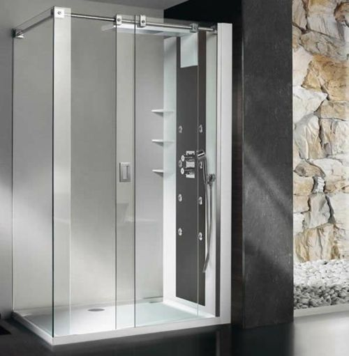 Die besten 25+ Dampfduschen Badezimmer Ideen auf Pinterest - badezimmer steinwand