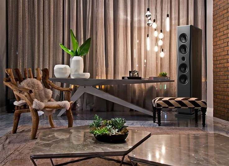 Overture O205F in dark oak and warm environment