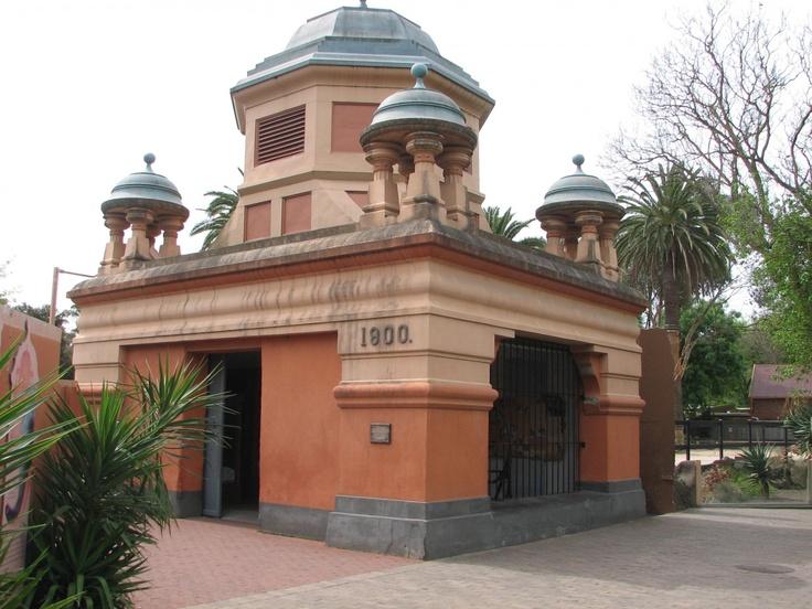 Historic elephant house at Adelaide Zoo c1800.