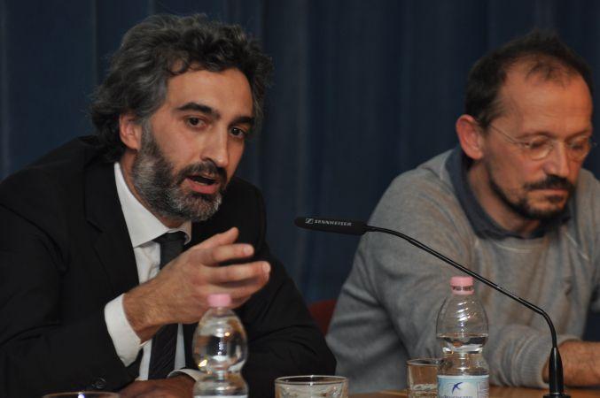 """Conferenza """"Architetti in Prospettiva"""": presidente GATA, arch. Andrea Battistoni e relatore arch. Raul Pantaleo - TamAssociati"""