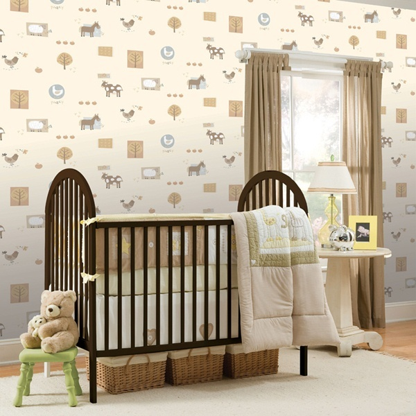 13 best images about papel de parede infantil hoopla on for Papel pared infantil