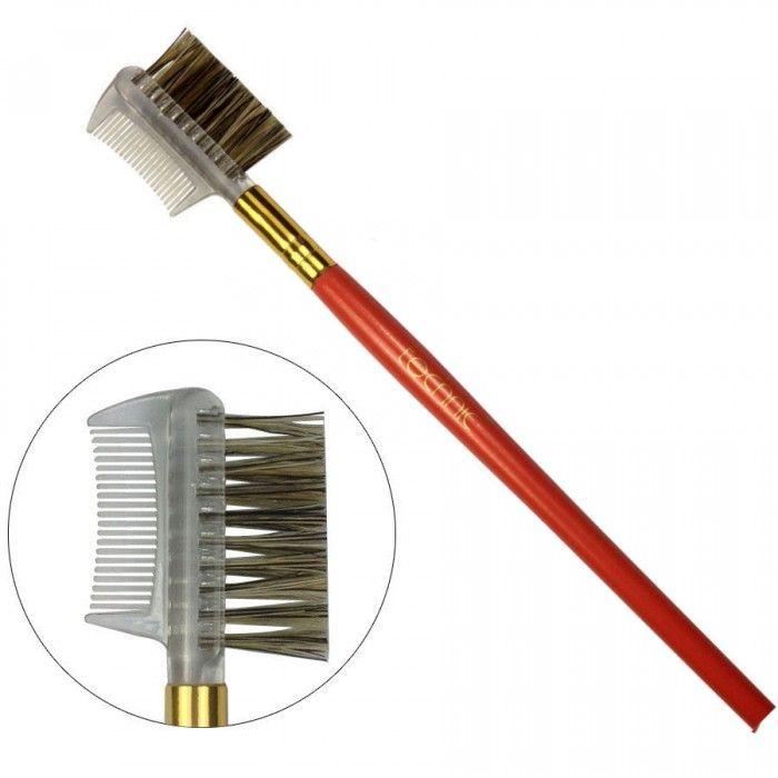 Το Lash Comb & Brow Brush 16.5 cmαπό την Technic είναι ένα διπλής όψης πινέλο - βουρτσάκι για το σχηματισμό των φρυδιών και το διαχωρισμό των βλεφαρίδων.