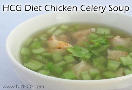 Phase 2 soup recipe for the HCG diet. This would be good if you were getting sick on the HCG diet.