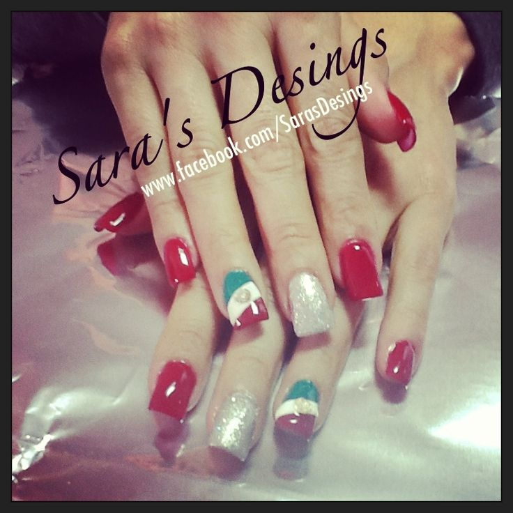 26 best mexico images on pinterest futbol nail art ideas and patriotic mexicans nails prinsesfo Gallery