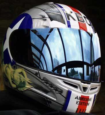 Kbc Airborne Helmet Artistic Life Saver Pinterest