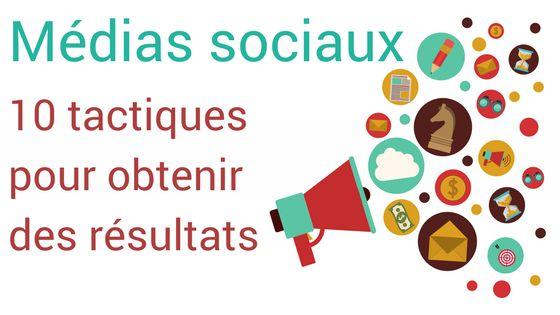 Médias sociaux : 10 tactiques pour générer des résultats - Reboot Strategies