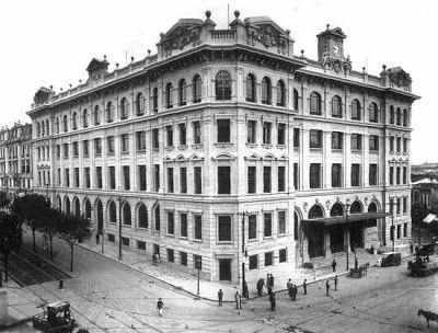Sede da Agência dos Correios em 1930.
