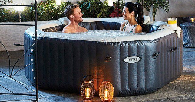 Best Inflatable Hot Tubs 2020 In 2021 Inflatable Hot Tubs Best Inflatable Hot Tub Hot Tub