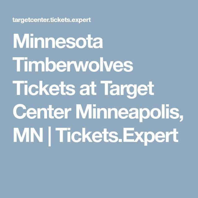 Minnesota Timberwolves Tickets at Target Center Minneapolis, MN   Tickets.Expert