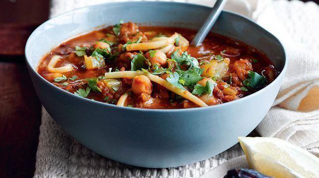 Soupe marocaine harira
