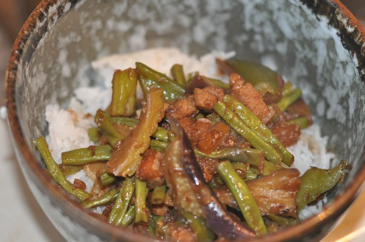 Rice Toppings: Pinakbet