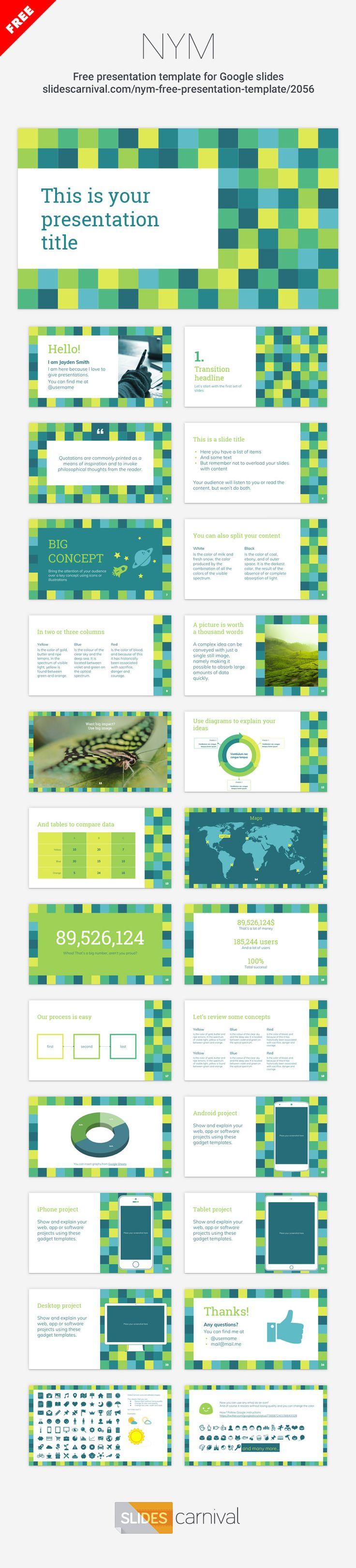 best 25+ free presentation templates ideas on pinterest | free, Presentation templates