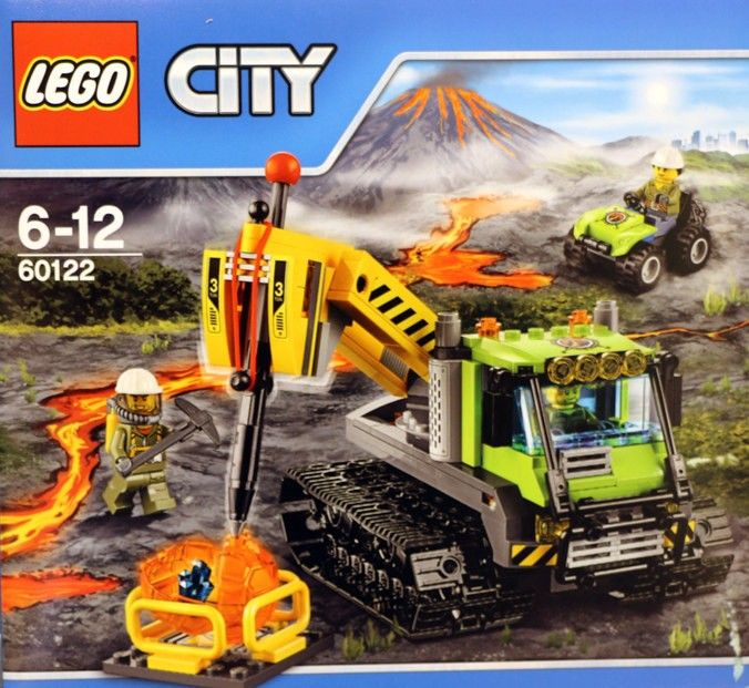 60122-1: Volcano Crawler Vehicle