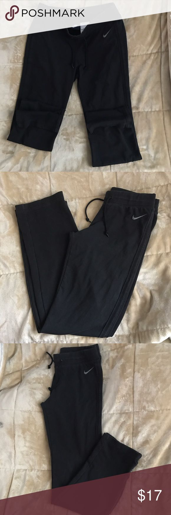 ❣️NIKE:| Women's Nike Jersey Pants. Size Small. BRAND: NIKE. Size: Small. Minimal signs of normal wear. No critical damage. Very Good condition. *Pictures are not filtered.                               Product Details These women's Nike pants provide laid-back style and a comfortable fit. Product Features Soft jersey construction Relaxed fit Drawstring elastic waistband Fabric & Care Cotton/polyester/spandex Machine wash Imported Nike Pants Track Pants & Joggers