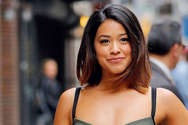 Gina Rodriguez Is The Latinx Represenation We Need Gina Rodriguez Short Hair Styles Hair Makeup
