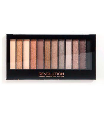 Makeup Revolution - Paleta de sombras de ojos Redemption - Iconic 2 (Naked 2)