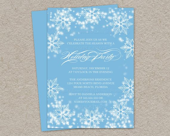 Christmas Party Images Invitations