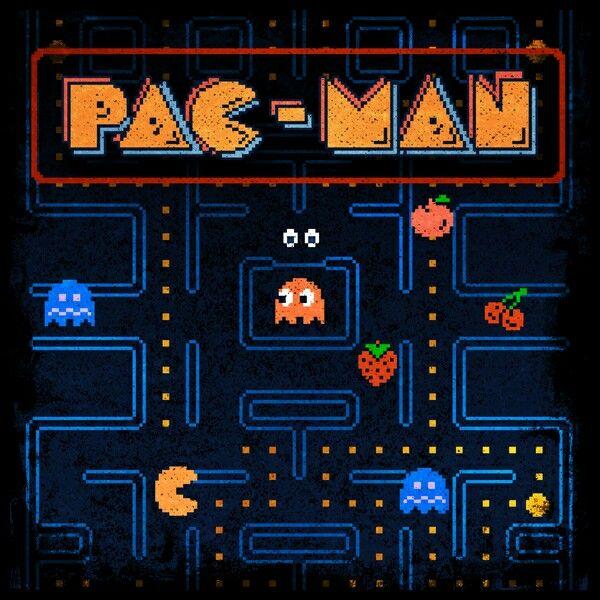 Pac Man Tshirt Print Design By Likelikes