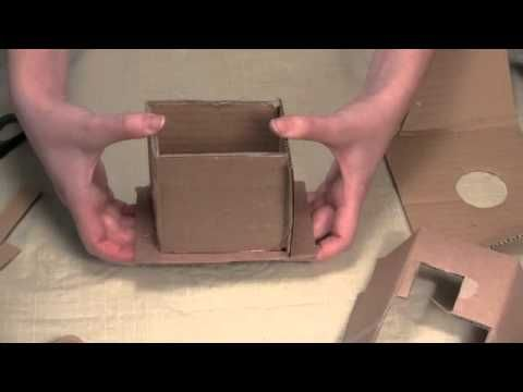 How to Make Candles: Make Your Own Cardboard Mold! - YouTube