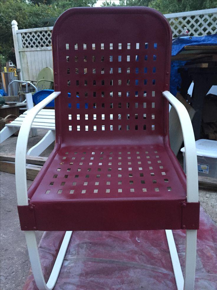 metal chairs metal garden furniture gliders glider chair rockers swings - Garden Furniture Gliders