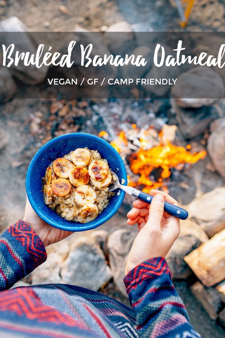 82 best vegetarian camping food images on pinterest camping foods brled banana oatmeal camping food hacksbackpacking foodcamping recipescamping forumfinder Gallery